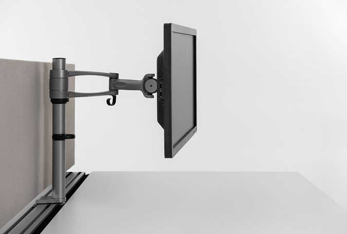Monitor arm Wishbone Accessories - Office Furniture | Kinnarps