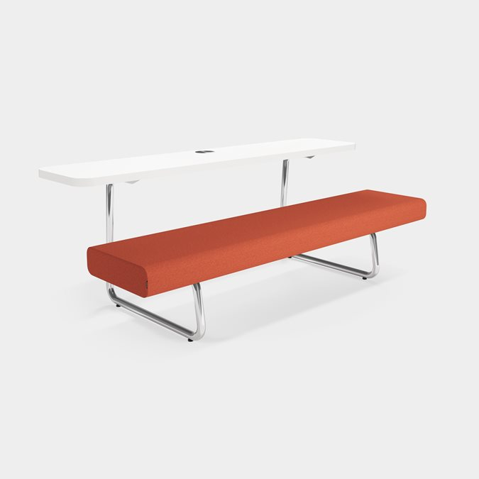 Avant Bench Soft Seating - Office Furniture | Kinnarps