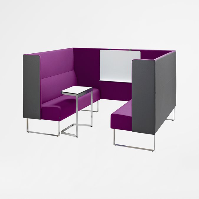 Monolite High Soft Seating - Office Furniture | Kinnarps