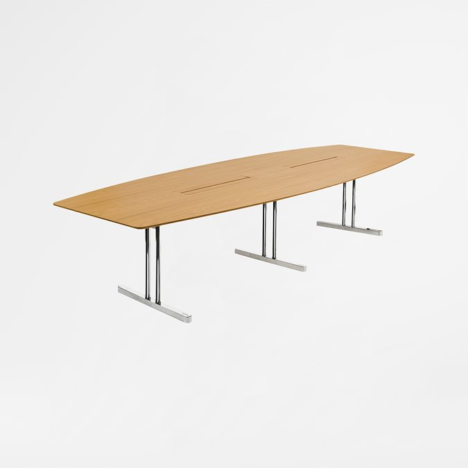 Disc T Meeting Tables - Office Furniture | Kinnarps