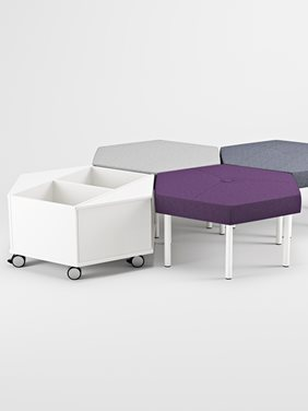 Trixagon Stool Stools - Office Furniture | Kinnarps